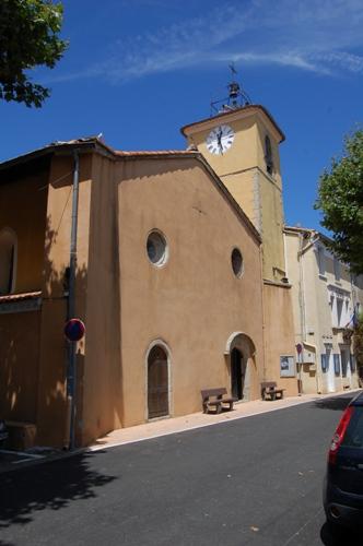 L'église Saint Jean-Baptiste