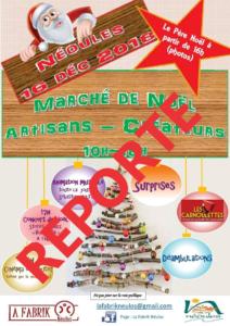 REPORT MARCHE DE NOEL